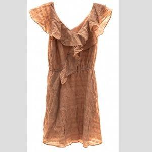 BCBGeneration Mini Ruffle Dress Sz XS